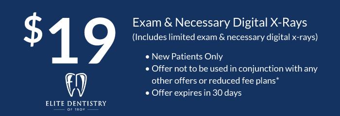 exam and necessary digital x-ray coupon